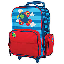 Stephen Joseph® Airplane Rolling Luggage in Blue
