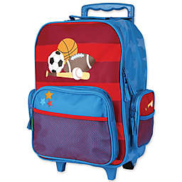 Stephen Joseph® Sports Rolling Luggage in Blue