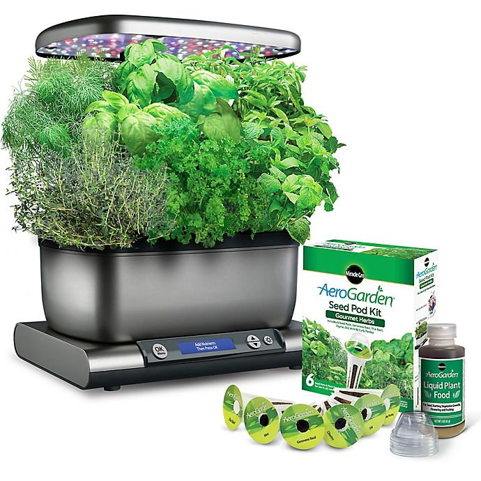 Alternate image 1 for Miracle-Gro® AeroGarden™ Harvest Plus with Seed Kit
