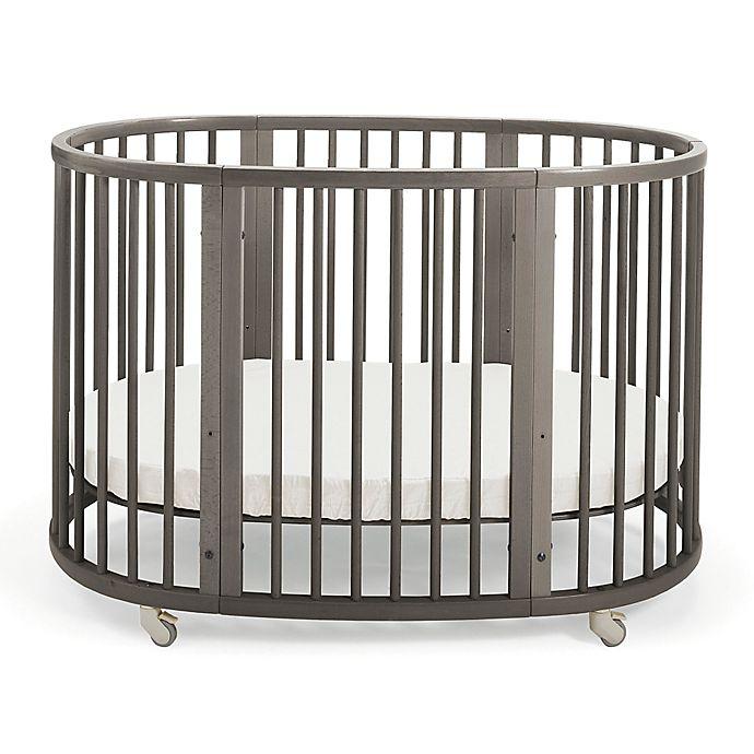 Alternate image 1 for Stokke® Sleepi™ Oval Crib in Grey