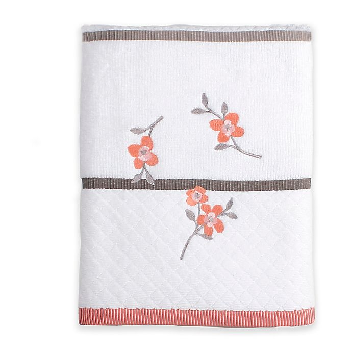 Alternate image 1 for Saturday Knight Coral Garden Bath Towel in Ivory