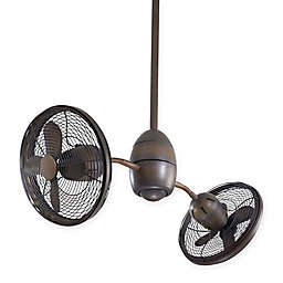 Minka-Aire® Gyrette™ Twin Turbo Ceiling Fan with Remote Control
