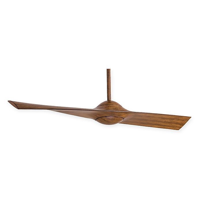 Alternate image 1 for Minka-Aire® Wing 52-Inch Ceiling Fan in Distressed Koa with Remote Control