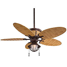 Minka-Aire® Shangri-La® 52-Inch Ceiling Fan with Vintage Rust Finish