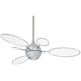Minka-Aire® Cirque™ 54-Inch Ceiling Fan with Polished Nickel Finish