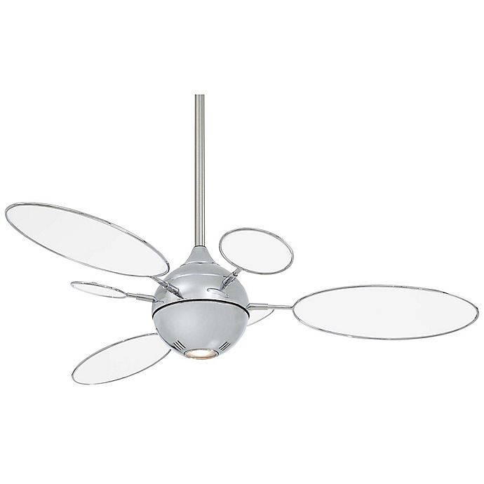 Alternate image 1 for Minka-Aire® Cirque™ 54-Inch Ceiling Fan with Polished Nickel Finish