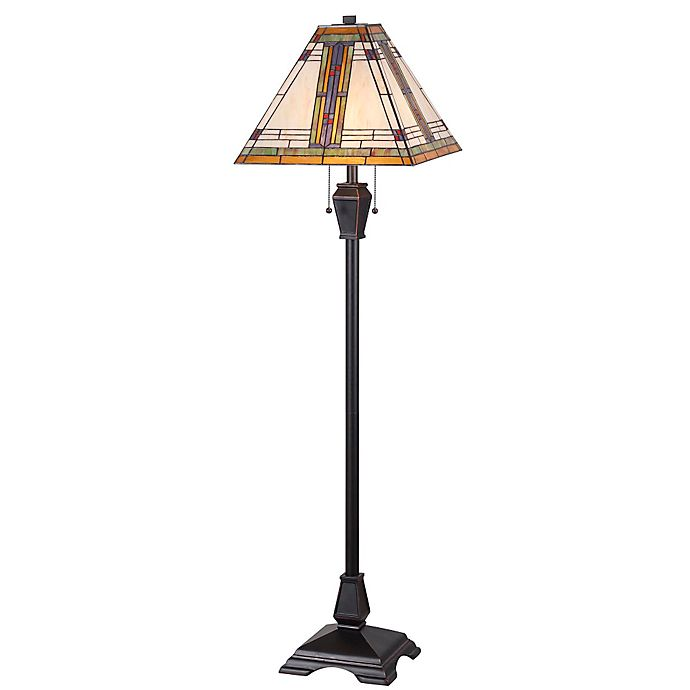 Kenroy Home Pratt Floor Lamp In Oil Rubbed Bronze Bed