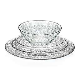 Lorren Home Trends Medici Crystal Dinnerware Collection