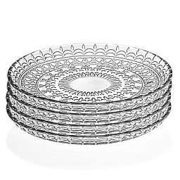 Lorren Home Trends Medici 8.5-Inch Crystal Bowls (Set of 4)