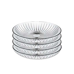 Lorren Home Trends Sunbeam 8.5-Inch Crystal Bowls (Set of 4)