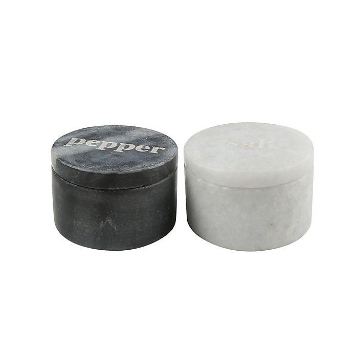 Alternate image 1 for Artisanal Kitchen Supply® Marble Cellar Set (Set of 2)