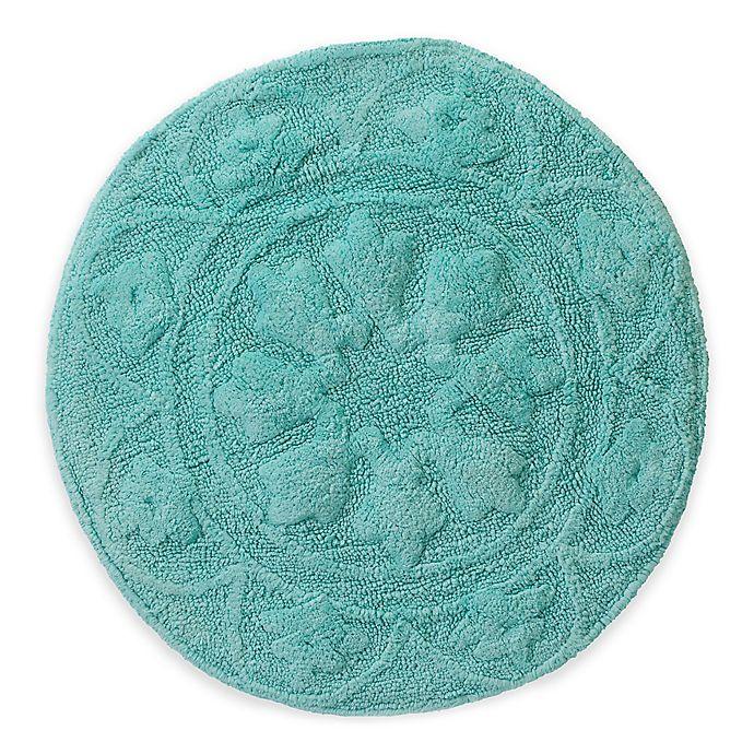 Calypso 30 Inch Round Bath Rug Bed
