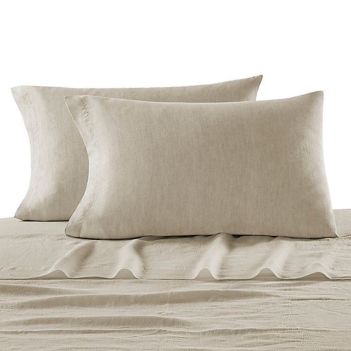 Alternate image 1 for Kassatex Lino Pillowcase Pair