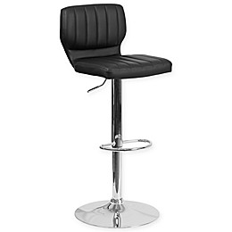 Flash Furniture Contemporary Bar Stool with Chrome Base