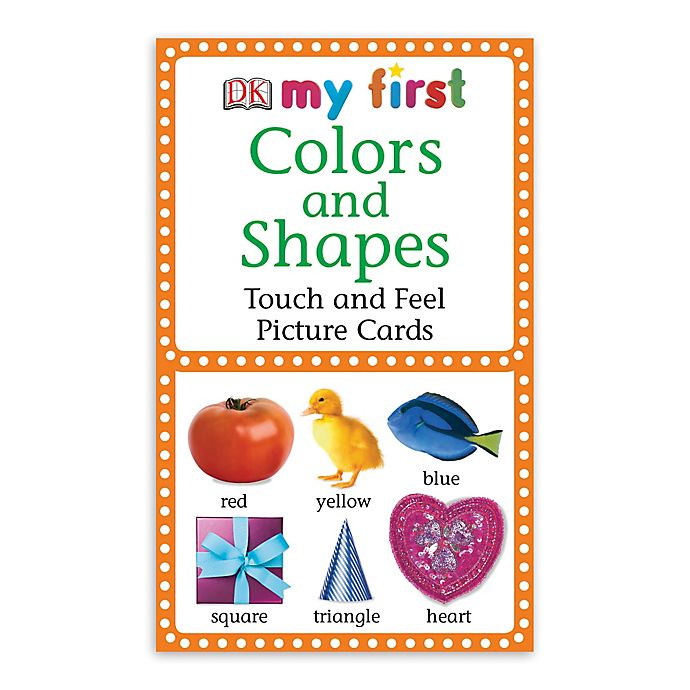 Alternate image 1 for My First Touch & Feel Picture Cards: Colors and Shapes