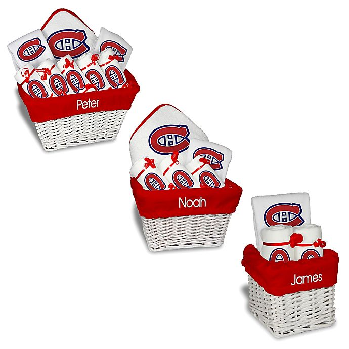 Alternate image 1 for Designs by Chad and Jake NHL Personalized Montreal Canadiens Gift Basket in