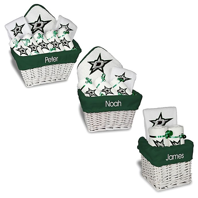 Alternate image 1 for Designs by Chad and Jake NHL Personalized Dallas Stars Gift Basket