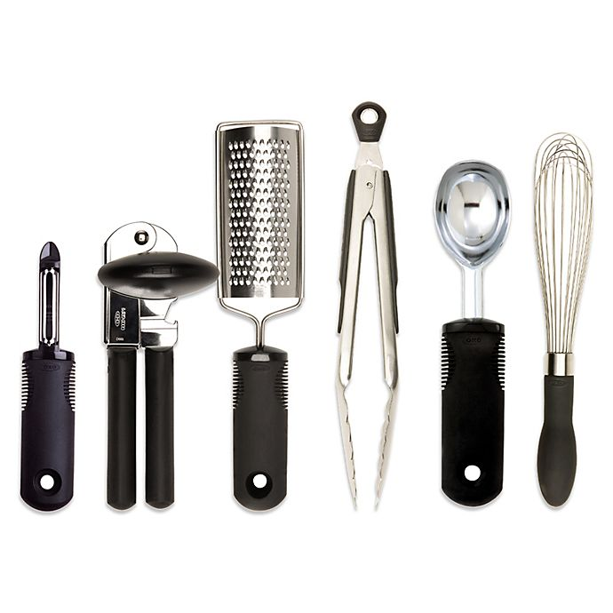 OXO Good Grips® Kitchen Essentials 6-Piece Set | Bed Bath & Beyond