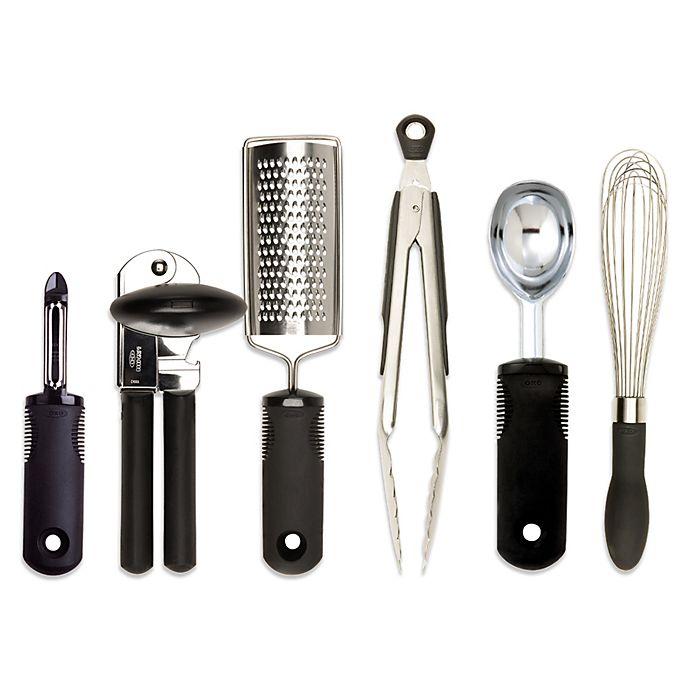 OXO Good Grips® Kitchen Essentials 6-Piece Set | Bed Bath & Beyond
