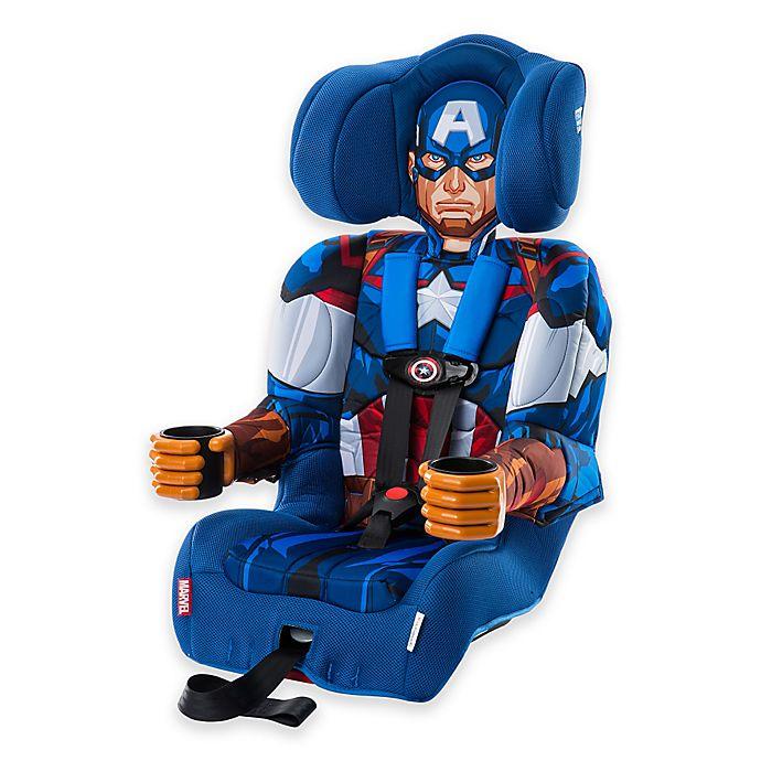 Alternate image 1 for KidsEmbrace® Marvel Avengers Captain America Combination Harness Booster Car Seat