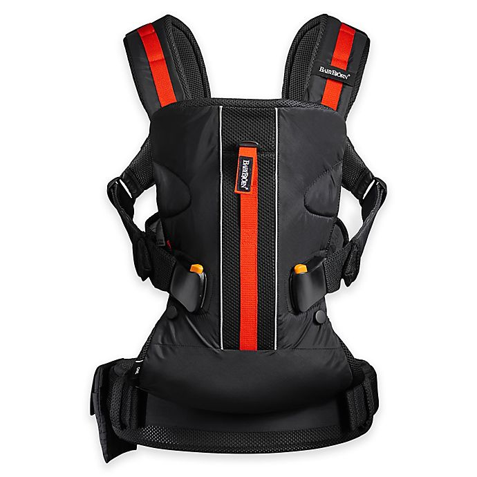 Alternate image 1 for BabyBjörn® Carrier One Outdoors Baby Carrier in Black