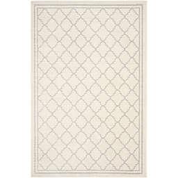 Safavieh Amherst 5-Foot x 8-Foot Quine Indoor/Outdoor Area Rug in Beige/Light Grey
