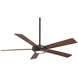 Minka-Aire® Sabot 52-Inch Ceiling Fan with Brushed Nickel Finish