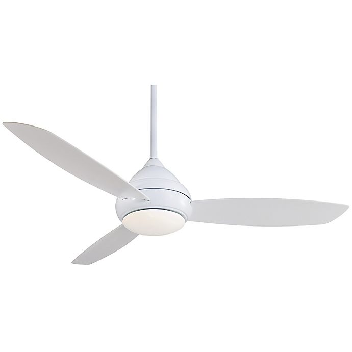 Alternate image 1 for Minka-Aire® Concept™ I 58-Inch Single-Light Outdoor Ceiling Fan
