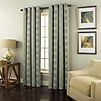 Spiral 95-Inch Grommet Top Window Curtain Panel in Spa