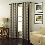 Spiral 108-Inch Grommet Top Window Curtain Panel in Medium Grey