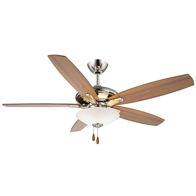 Alternate image 1 for Minka-Aire® Mojo 52-Inch Ceiling Fan in Brushed Nickel