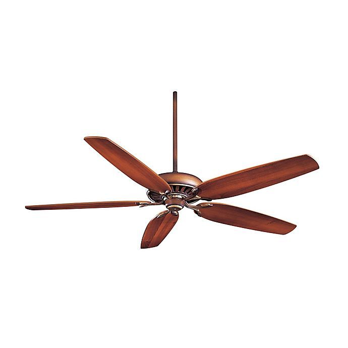 Alternate image 1 for Minka-Aire® Great Room Traditional 72-Inch Ceiling Fan with Belcaro Walnut™ Finish