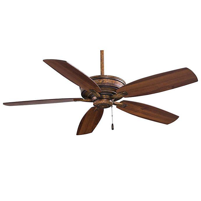 Alternate image 1 for Minka-Aire® Kafé-XL 52-Inch Ceiling Fan in Vineyard Patina