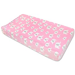 Wendy Bellissimo™ Elephant Changing Pad Cover in Pink