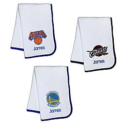 Designs by Chad and Jake NBA Personalized Baby Blanket