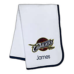 Designs by Chad and Jake NBA Cleveland Cavaliers Personalized Baby Blanket