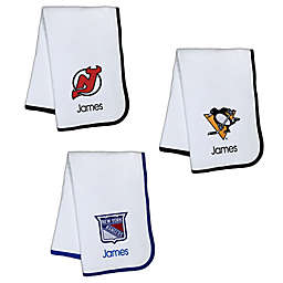 Designs by Chad and Jake NHL Personalized Baby Blanket