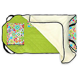 Urban Infant Planets Tot Cot Toddler Nap Mat in Green