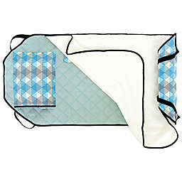 Urban Infant Seattle Tot Cot Toddler Nap Mat in Blue