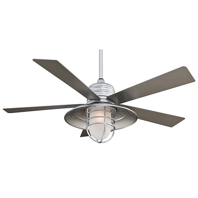 Alternate image 1 for Minka-Aire® Rainman™ 54-Inch Ceiling Fan