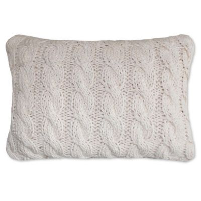 Park B Smith Classic Cable Oblong Throw Pillow Bed Bath