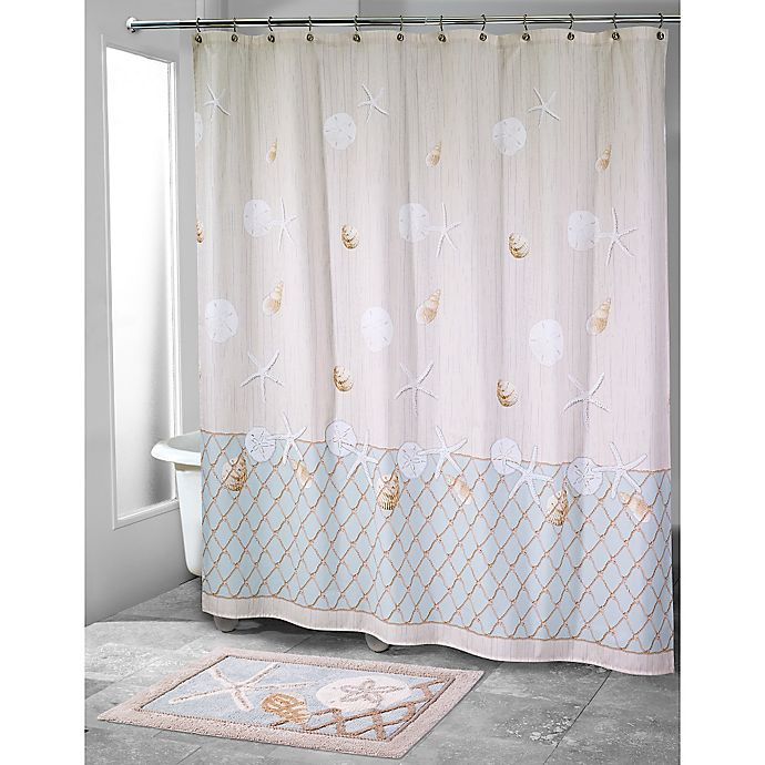 Avanti Sea Glass Shower Curtain View A Larger Version Of This Product Image