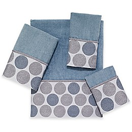 Avanti Dotted Circle Bath Towel Collection