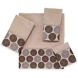 Avanti Dotted Circle Bath Towel Collection