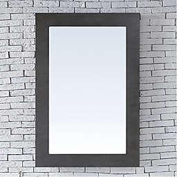 James Martin Furniture Metropolitan 30-Inch Rectangular Wall Mirror in Oak