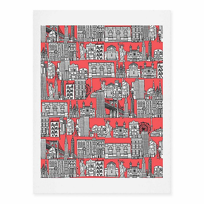 Alternate image 1 for Deny Designs 11-Inch x 14-Inch New York Coral Art Print