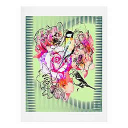 Deny Designs Birds and Flowers Art Print