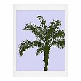 Deny Designs 11-Inch x 14-Inch Olive Palm Art Print