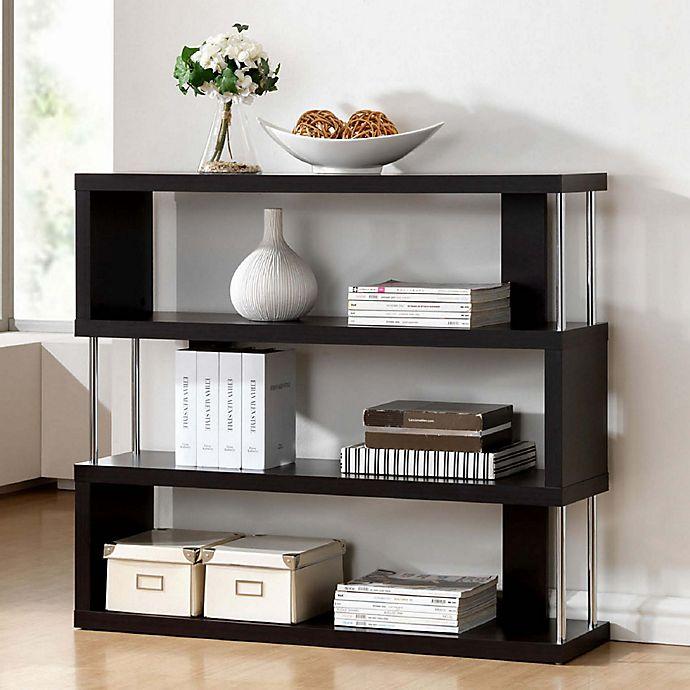 Alternate image 1 for Baxton Studio Barnes 3-Shelf Bookcase