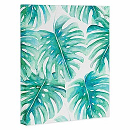 Deny Designs 16-Inch x 20-Inch Paradise Palms Canvas Wall Art